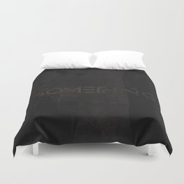 Do Something Grunge Duvet Cover