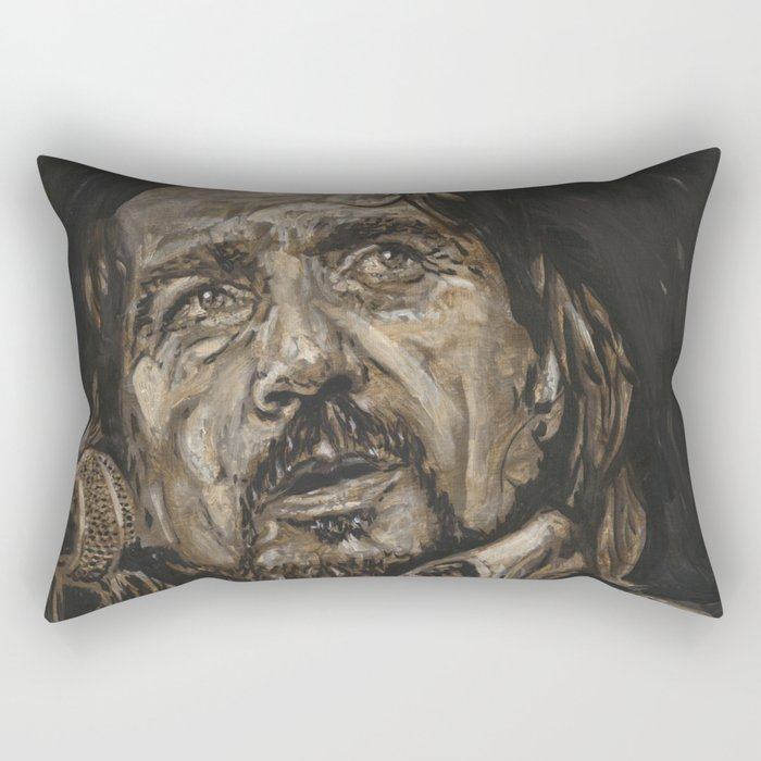 Waylon Jennings Rectangular Pillow