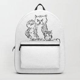 Three Owls Backpack