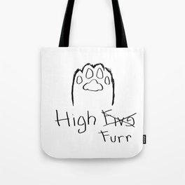 High Furr Tote Bag