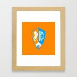 DENFC (Germany) Framed Art Print