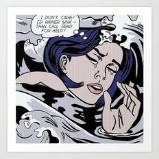 Roy Lichtenstein Art Print
