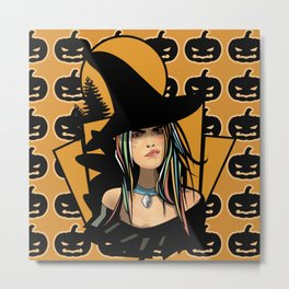 What About The Pumpkins Metal Print