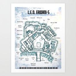 LEO/Eridani-5 Art Print
