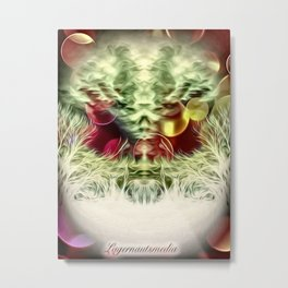 ALIEN 1 - 061 Metal Print