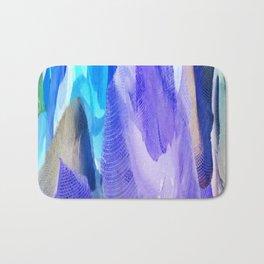 375 - Abstract Flower Design Bath Mat