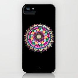 Bright mandala iPhone Case