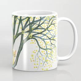 Odessa Whimsical Cats in Tree Coffee Mug