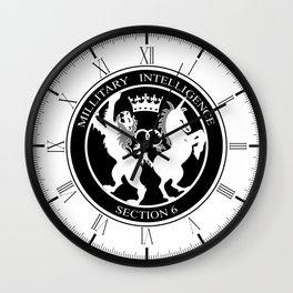 MI6 Logo (Millitary Intelligence Section 6) Wall Clock