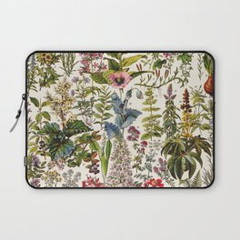 Adolphe Millot - Plantes Medicinales A - French vintage poster Laptop Sleeve