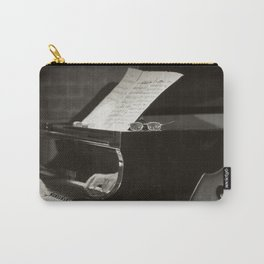 Grand Piano and Music Notes Carry-All Pouch