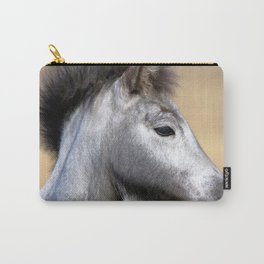Watercolor Horse 03, Icelandic Pony, Kufhol, Iceland, Greyling Carry-All Pouch