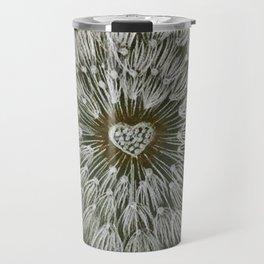 Dandelion heart Travel Mug