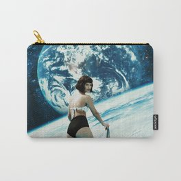 Cosmic Pool Babe Carry-All Pouch