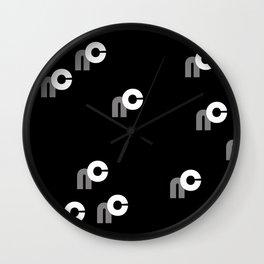 NC enlarged Wall Clock