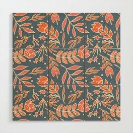 Loquacious Floral Wood Wall Art