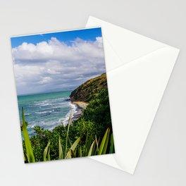 New Zealand Beach | Oamaru Beach, near Dunedin (South Island) | Colorful Travel Photography Stationery Cards
