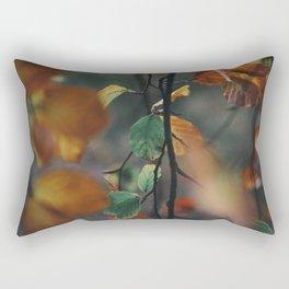 Falling Leaves III Rectangular Pillow