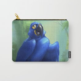Moseley the Hyacinth Macaw Carry-All Pouch