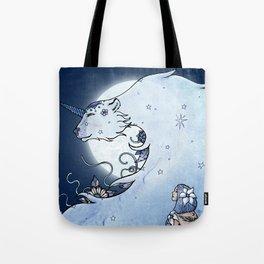 Mia & The Unicorn Bear Tote Bag