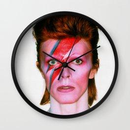 David Bowie Pop Star Wall Clock