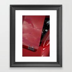 1966 Chevy Corvette Stingray Framed Art Print