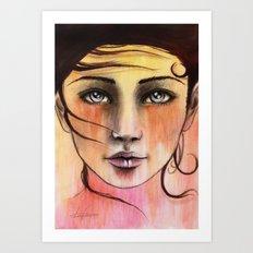 Femme Sunrise Art Print