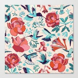 Hummingbird summerdance Canvas Print