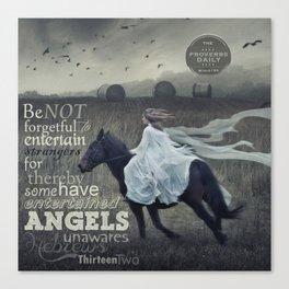 Angels Unaware Canvas Print