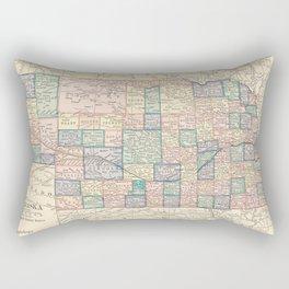 Nebraska Remembered Rectangular Pillow