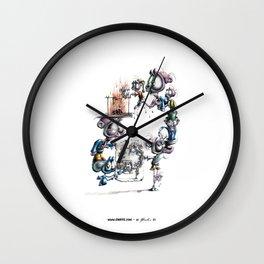 Recursive Drawing Wall Clock