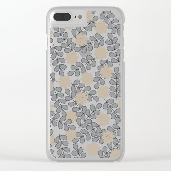 pattern 16 Clear iPhone Case