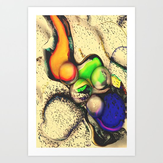 Alien Commodity Art Print