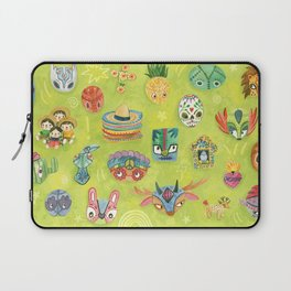 Lucia The Luchadora And The Million Masks Laptop Sleeve
