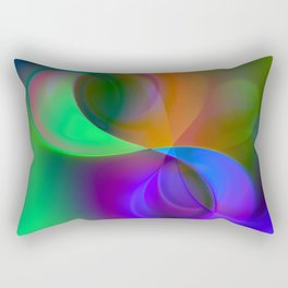 color whirl -32- Rectangular Pillow