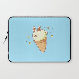 Bunny-lla Ice Cream Laptop Sleeve