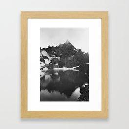 Broken Top Mountain Framed Art Print