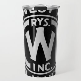 Chicago & West Towns Rail Travel Mug
