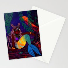 Tropical Mermadia Stationery Cards