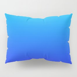 Blue Gradient Pillow Sham