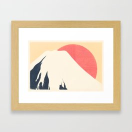 Dreams of Fuji Framed Art Print