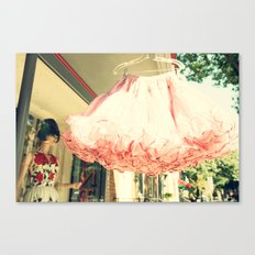 Crinoline Skirt  Canvas Print