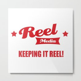 Reel Media Metal Print