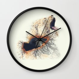 Untameable Truth Wall Clock