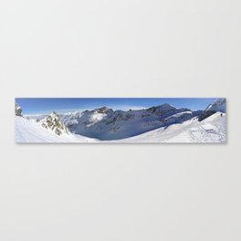 I am so small here Canvas Print