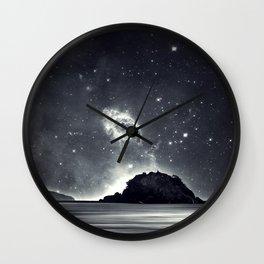 Island in the sea of eternity Wall Clock