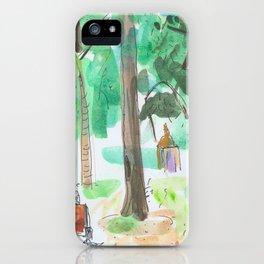 Hyde Park iPhone Case