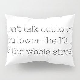 Don't talk - Sherlock - TV Show Collection Pillow Sham