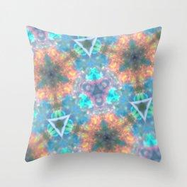 Pastel Opal Throw Pillow