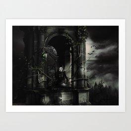 Hallween Queen 3 Art Print